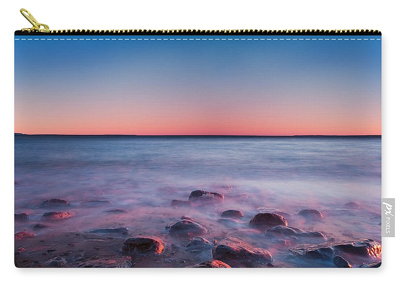 Beach Carry-all Pouch featuring the photograph Sea by U Schade