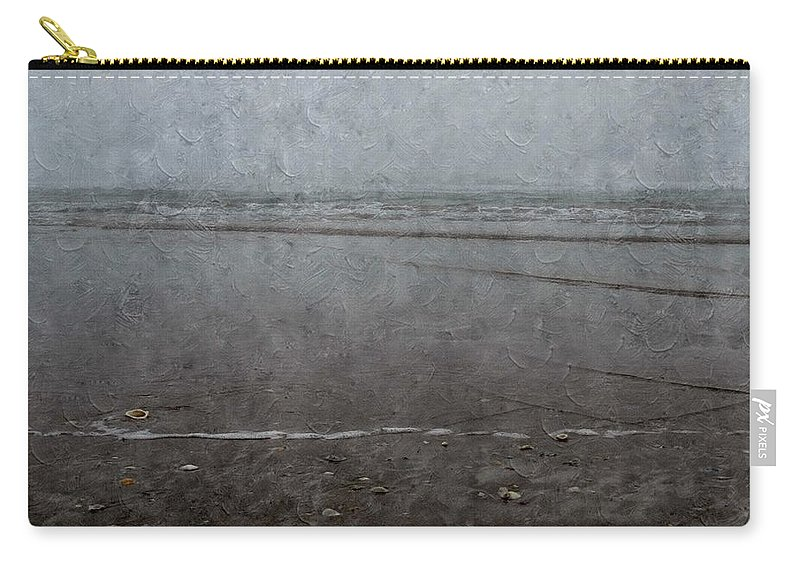 Seashore Carry-all Pouch featuring the photograph Seashore by Annie Adkins
