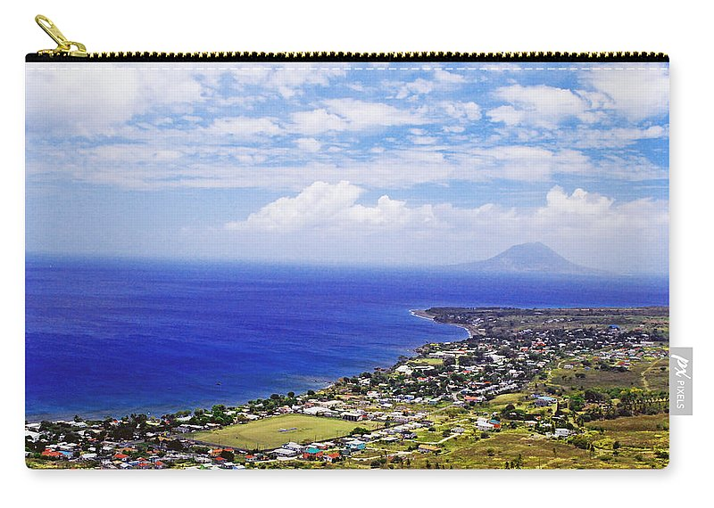 Ocean Carry-all Pouch featuring the photograph Seaside Resort by Gary Wonning