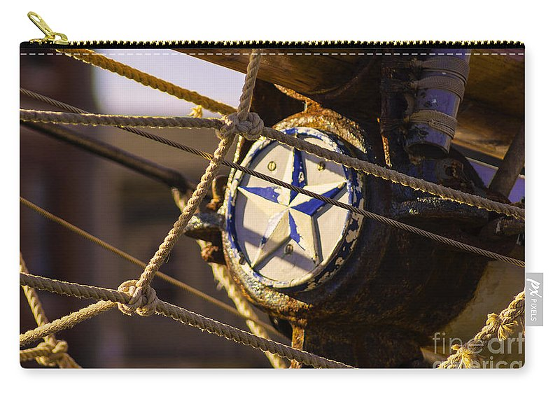 Coast Carry-all Pouch featuring the photograph Seasoned Mariner by Joe Geraci