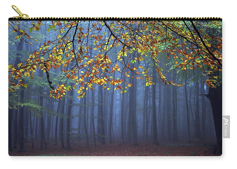 Autumn Carry-all Pouch featuring the photograph Seconds Before The Light Went Out by Roeselien Raimond