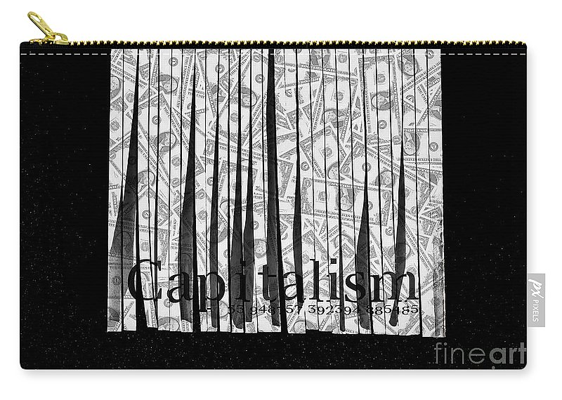 Corruption Carry-all Pouch featuring the photograph Secrets Behind The Veil Of Crony Capitalism by Jorgo Photography - Wall Art Gallery