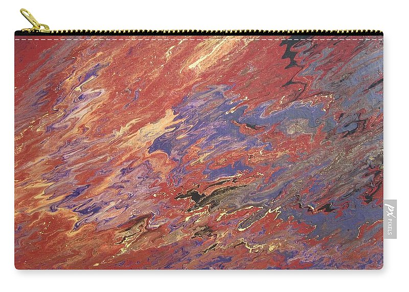 Fusionart Carry-all Pouch featuring the painting Sedona by Ralph White