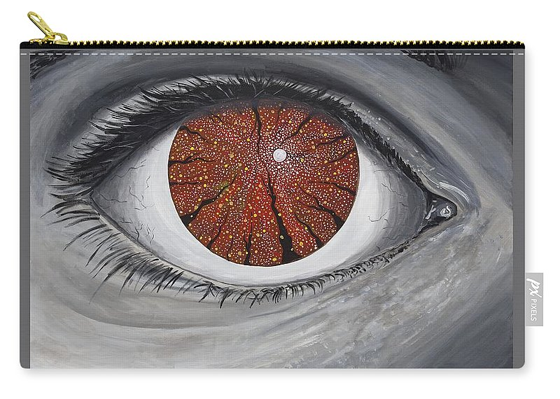 Surreal Carry-all Pouch featuring the painting See The Symphony by Joel Tesch