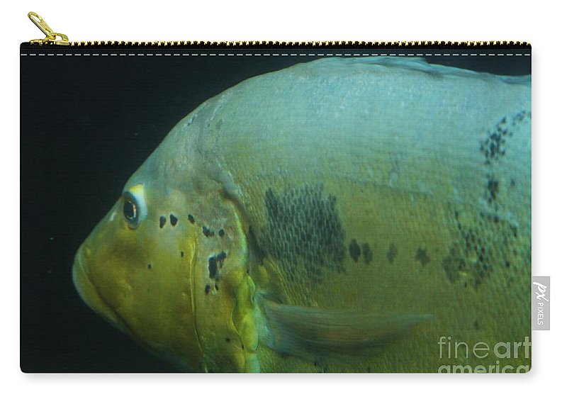 Fish Carry-all Pouch featuring the photograph See You Later by Tonya Hance