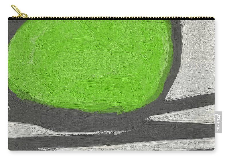 Abstract Carry-all Pouch featuring the painting Seed by Linda Woods