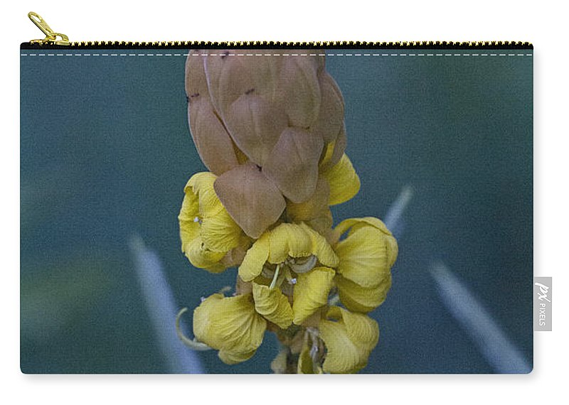 Yellow Carry-all Pouch featuring the photograph Seeds by Douglas Barnard