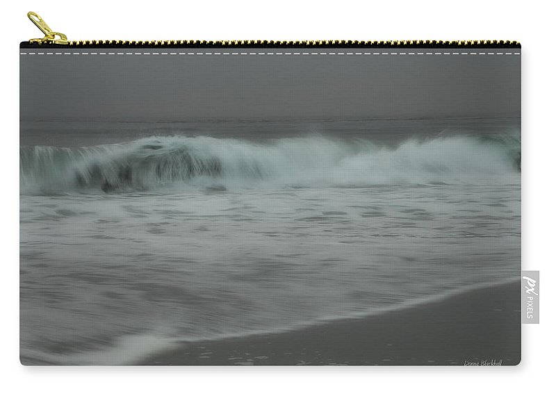Ocean Carry-all Pouch featuring the photograph Seeking Peace by Donna Blackhall
