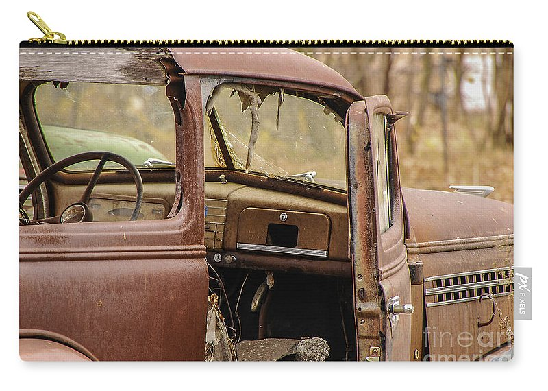 Still Life Carry-all Pouch featuring the photograph Seen Better Days by Mary Carol Story