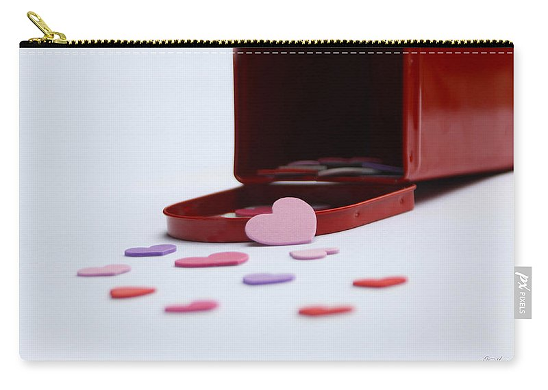 Valentines Day Carry-all Pouch featuring the photograph Sending Love by Diana Haronis