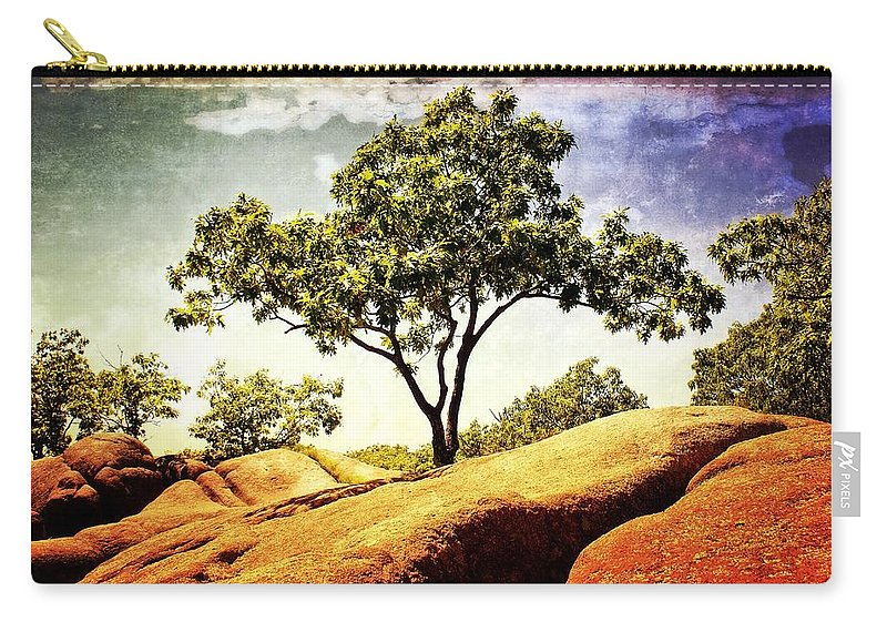 Tree Carry-all Pouch featuring the photograph Sentinal Tree by Marty Koch