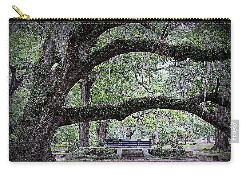 Serenity Carry-all Pouch featuring the photograph Serenity by Beth Vincent