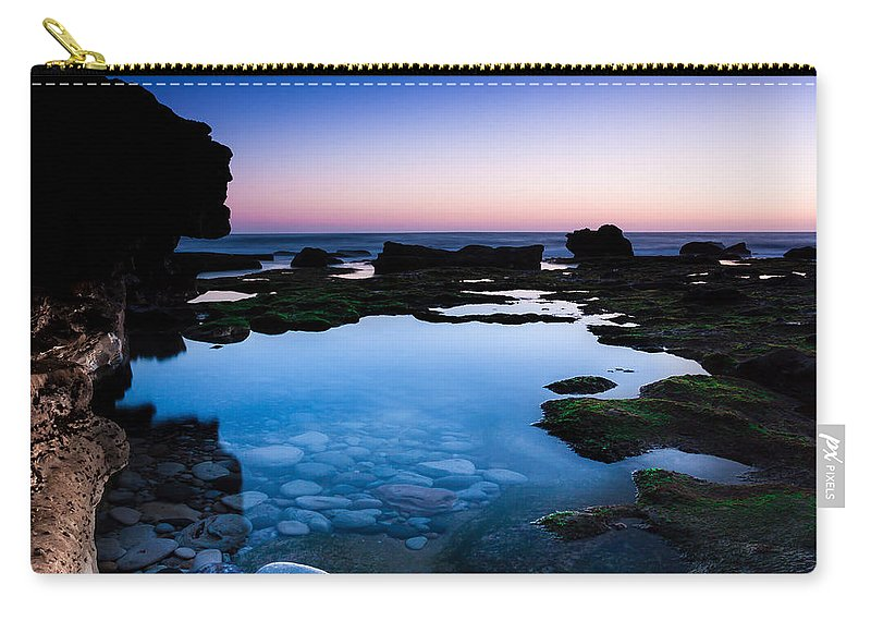Serenity Carry-all Pouch featuring the photograph Serenity by Edgar Laureano