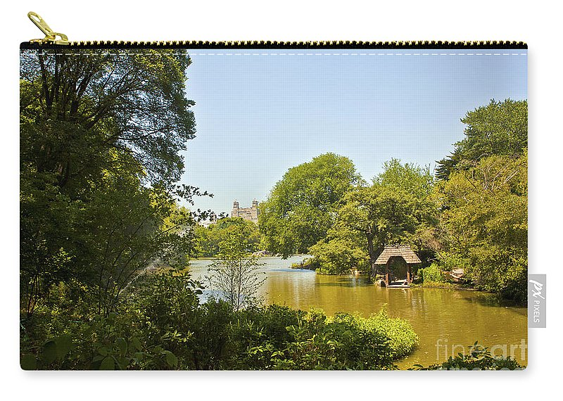 Pond Carry-all Pouch featuring the photograph Serenity II by Madeline Ellis
