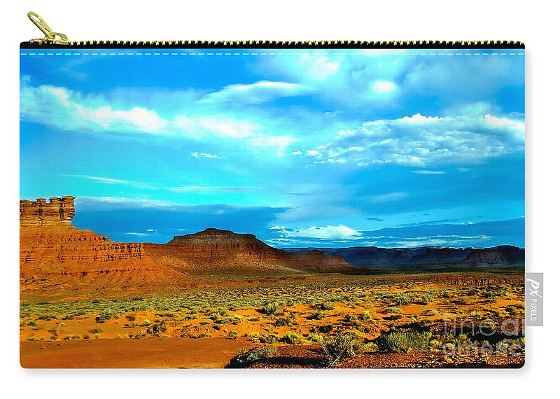 Valley Of The Gods Carry-all Pouch featuring the photograph Seven Gods II by Robert Bales