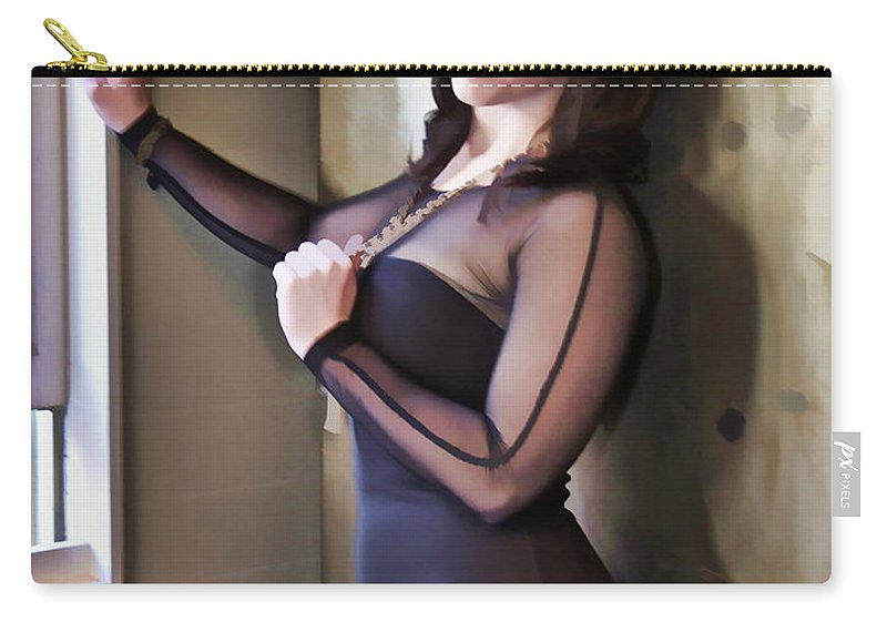 Woman Lady Sexy Curvy Abstract Portrait Alicegipsonphotographs Carry-all Pouch featuring the photograph Sexy Curves by Alice Gipson
