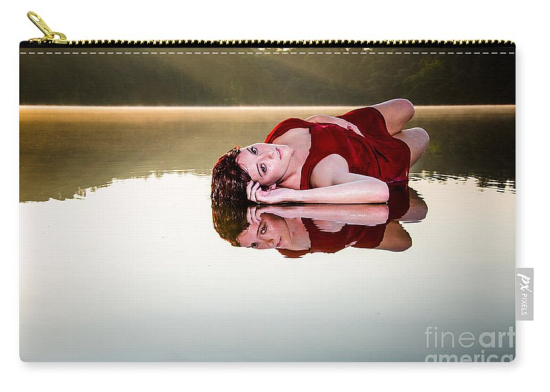Beautiful Carry-all Pouch featuring the photograph Sexy Waters by Jh Photos