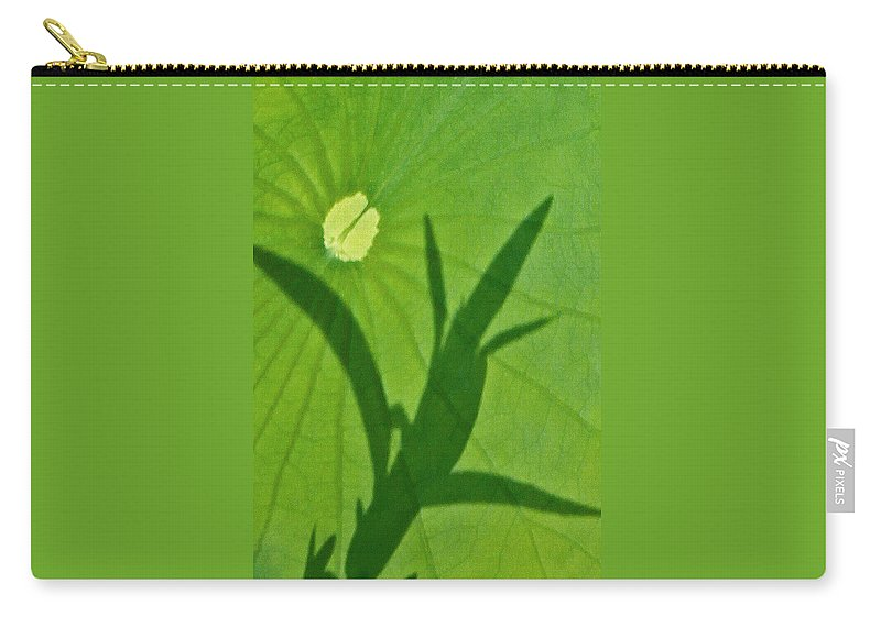 Shadow Carry-all Pouch featuring the photograph Shadow by Carolyn Stagger Cokley