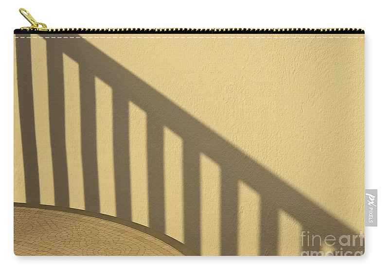 Shadows Carry-all Pouch featuring the photograph Shadow Shapes I by James Lavott