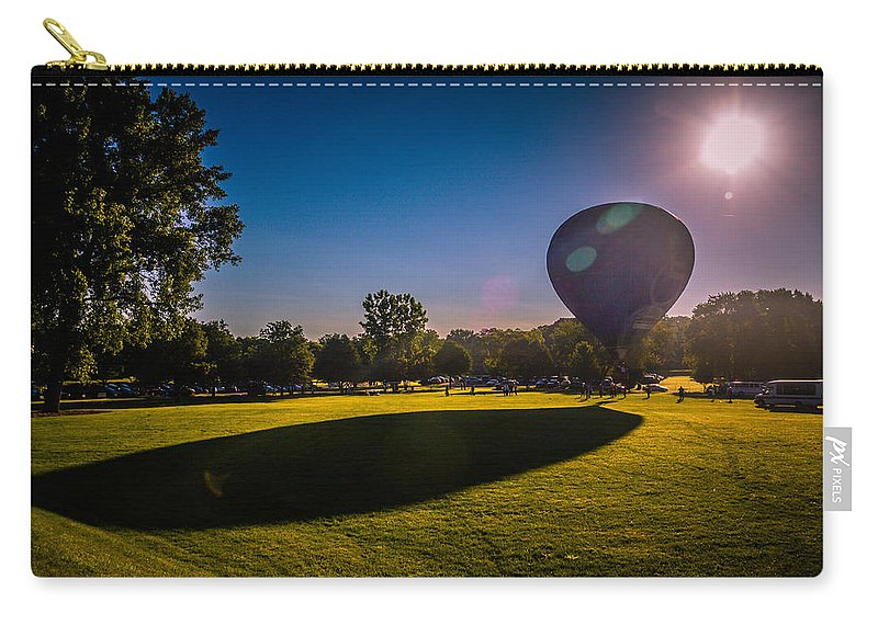 Carry-all Pouch featuring the photograph Shadow by Sue Conwell
