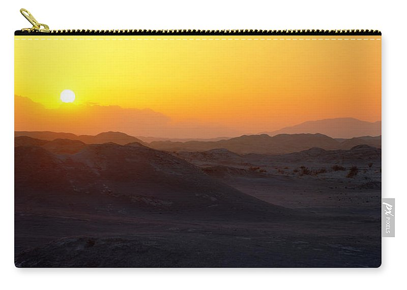 Sunset Carry-all Pouch featuring the photograph Shadows by Chad Dutson
