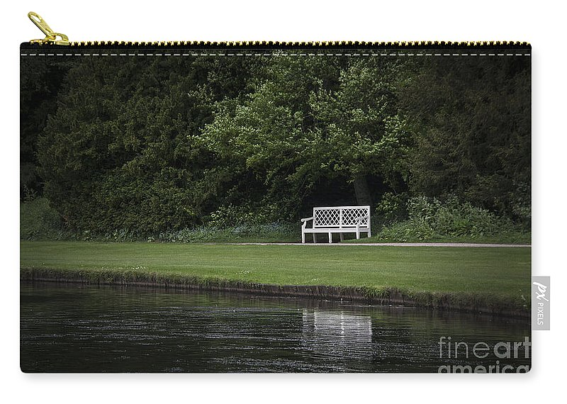 Park Carry-all Pouch featuring the photograph Shadows Of Time by Evelina Kremsdorf