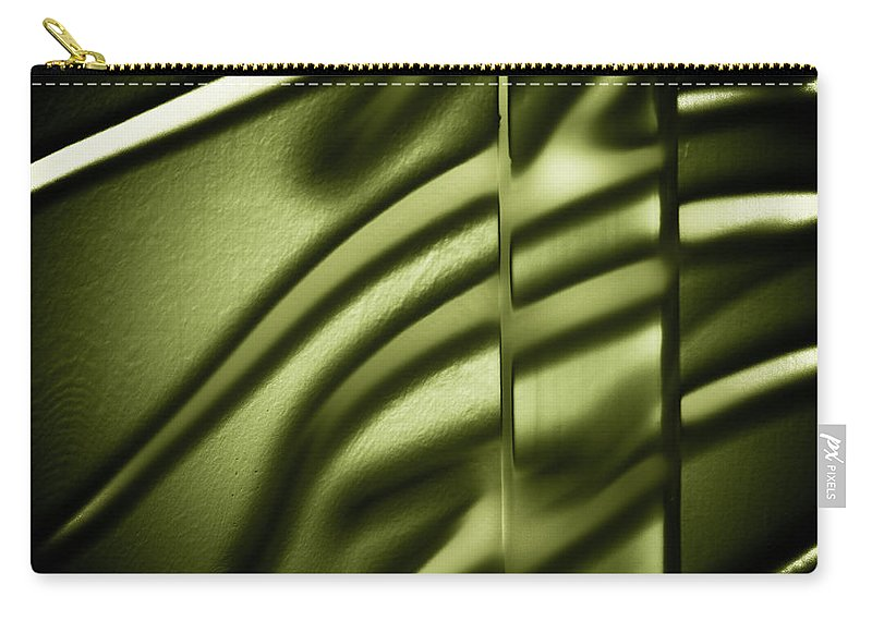 Abstract Carry-all Pouch featuring the photograph Shadows On Wall by Darryl Dalton
