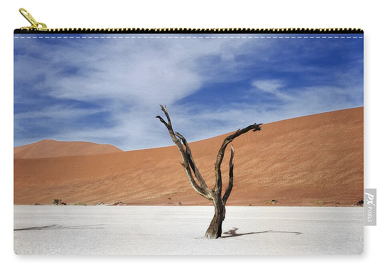 Namibia Carry-all Pouch featuring the photograph Shake Your Dreads by A Rey