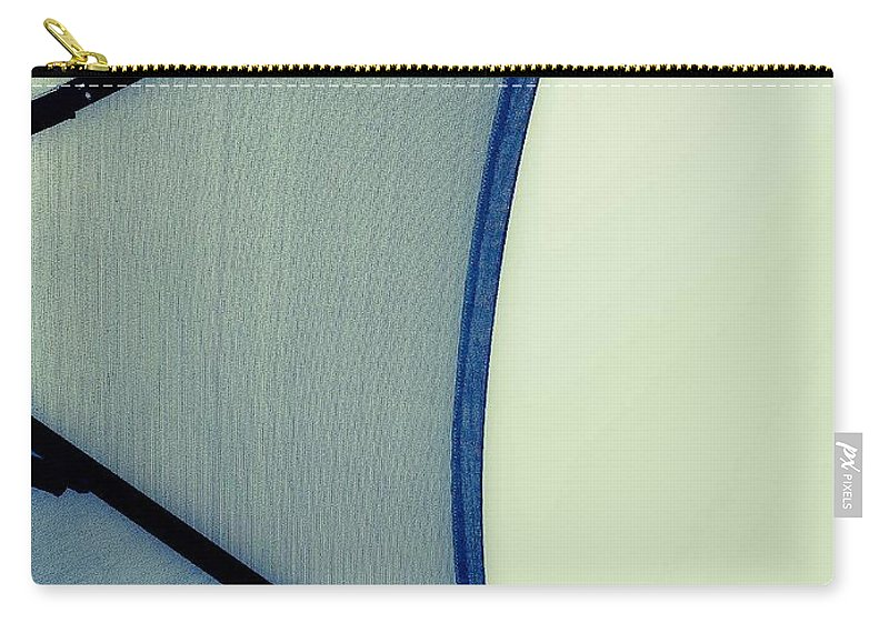Abstract Carry-all Pouch featuring the photograph Shape No.3 Verdant Version by Fei A