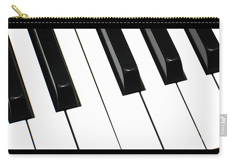 Piano Carry-all Pouch featuring the photograph Sharps And Flats by Ann Horn