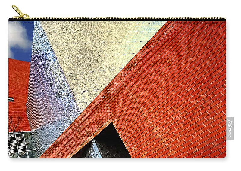 Architecture Carry-all Pouch featuring the photograph Sharps by Wayne Sherriff