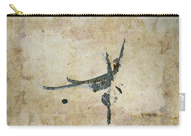 Flies Carry-all Pouch featuring the photograph She Flies by Carol Leigh