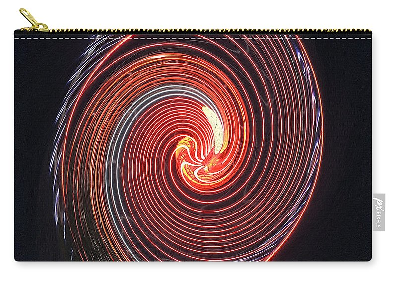 Digital Art Carry-all Pouch featuring the photograph Shell Swirl by Marian Bell