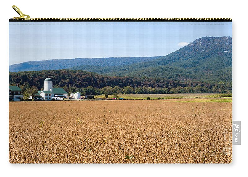 Farm Carry-all Pouch featuring the photograph Shenandoah Valley Panorama by Thomas Marchessault