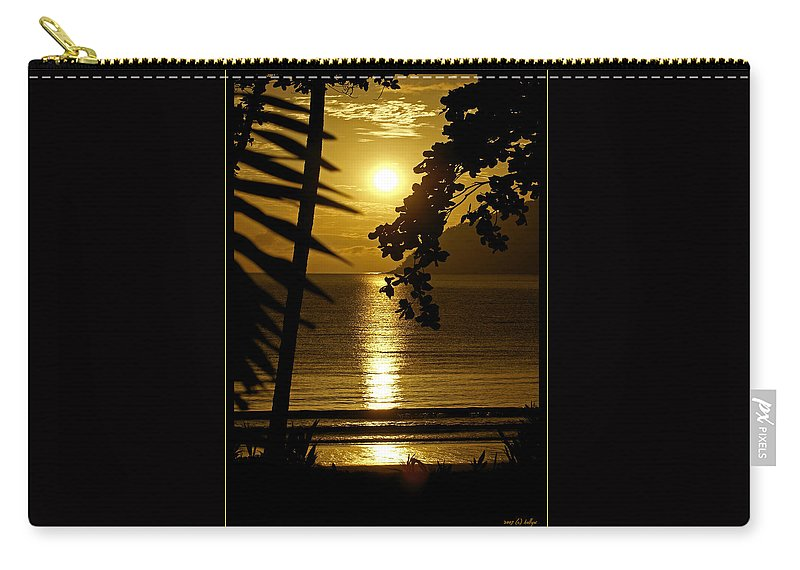 Landscapes Carry-all Pouch featuring the photograph Shimmer by Holly Kempe