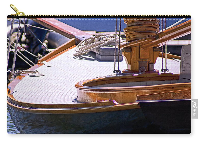 Ship Carry-all Pouch featuring the photograph Shipshape by Joe Geraci