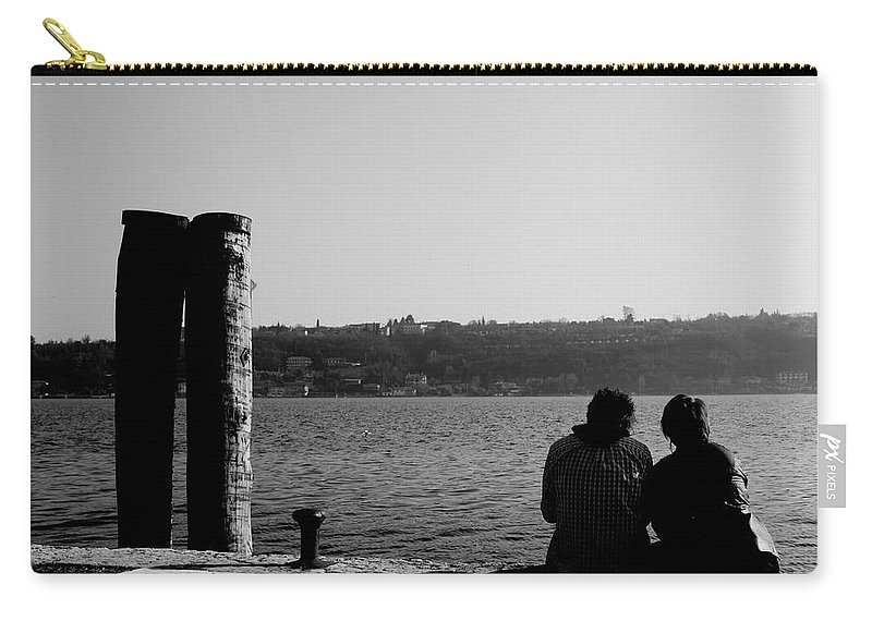Italie Carry-all Pouch featuring the photograph Shivers by Donato Iannuzzi