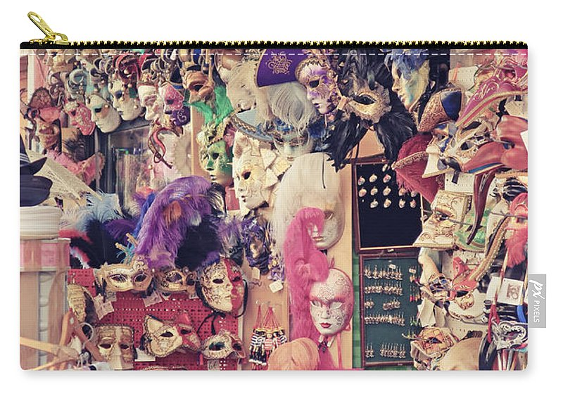 Venice Carry-all Pouch featuring the photograph Shop In Venice by Jaroslav Frank