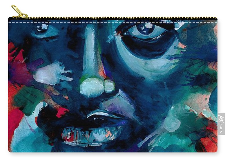 Painting Carry-all Pouch featuring the photograph Show me your true colors by Artist RiA
