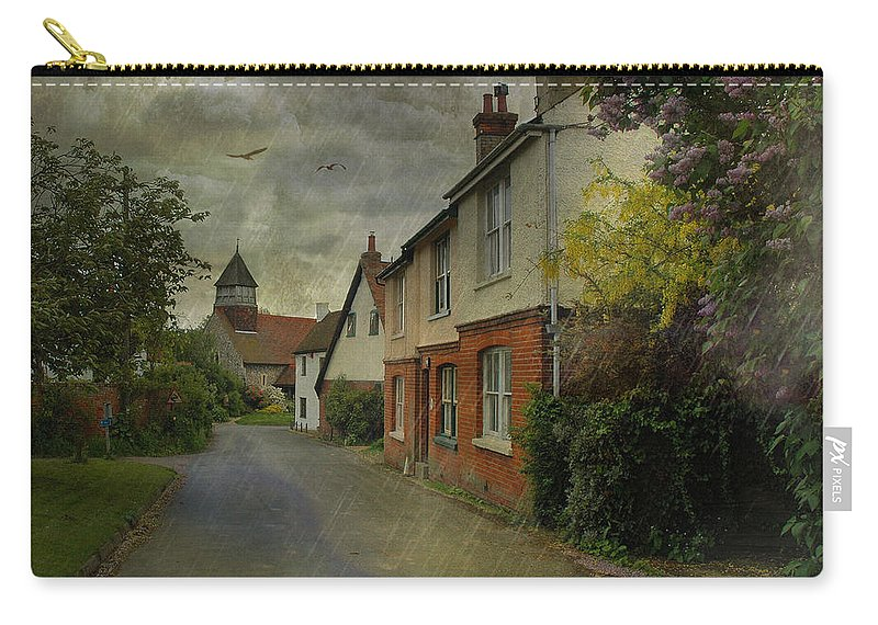 Rain Carry-all Pouch featuring the photograph Showers by Fran J Scott