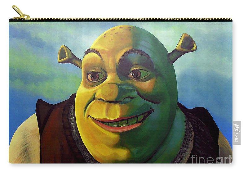 Shrek Carry All Pouch For Sale By Paul Meijering