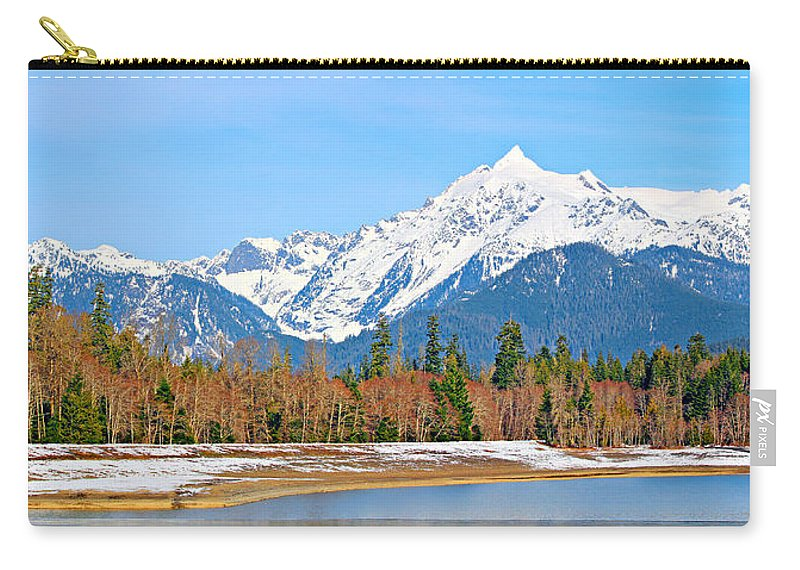 Alpine Carry-all Pouch featuring the photograph Shuksan by Paul Fell