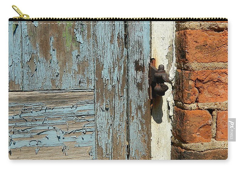 Vintage Carry-all Pouch featuring the photograph Shuttered by Kathy Barney