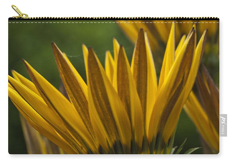 Yellow Carry-all Pouch featuring the photograph Shutting Up Shop by Steve Purnell