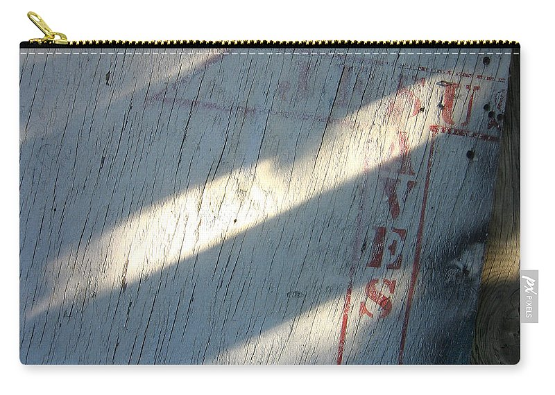 Jesus Saves Sign Black Canyon Arizona City Dump Retrieval Sid Bruce Sylver Short Carry-all Pouch featuring the photograph Sid Bruce's Jesus Saves Sign Black Canyon Arizona 2005 by David Lee Guss