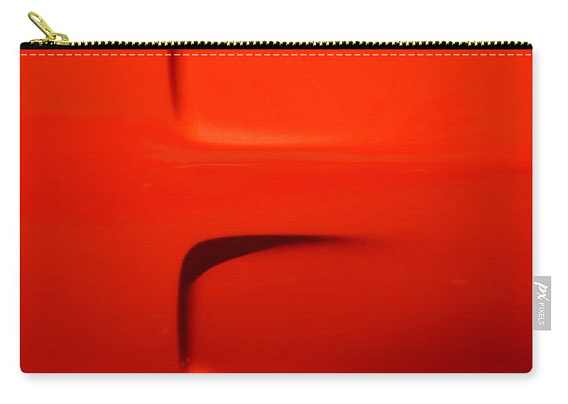 Car Carry-all Pouch featuring the photograph Side Of Orange Super Bee by Dean Ferreira