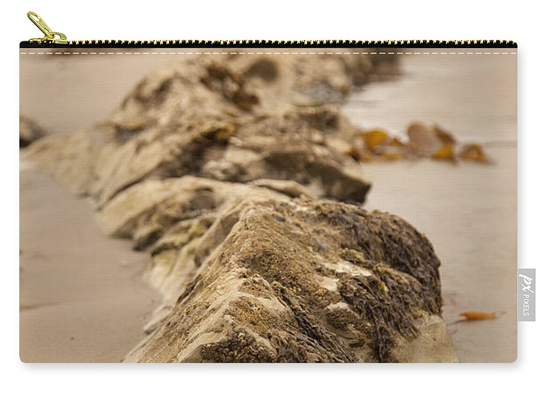 rocky Shore Carry-all Pouch featuring the photograph Side Winding by Amanda Barcon