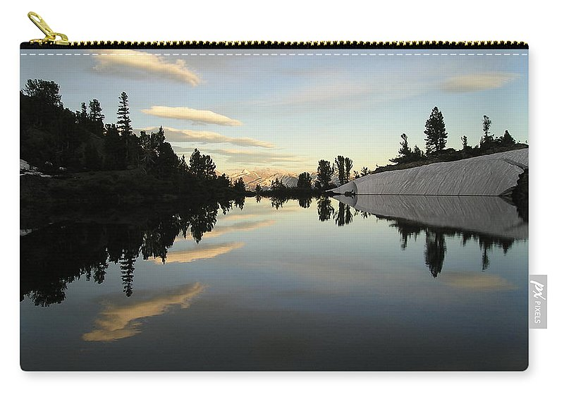 Landscape Carry-all Pouch featuring the photograph Sierra Reflection II by Nathan Shegrud