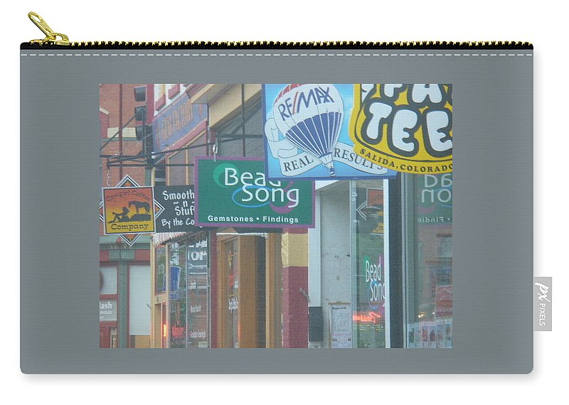 Lyle Carry-all Pouch featuring the painting Signs by Lord Frederick Lyle Morris - Disabled Veteran