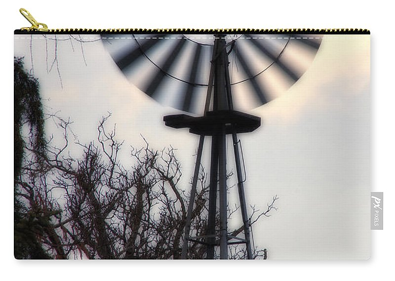 Special Effect Carry-all Pouch featuring the photograph Signs Of The Approaching Storm by Mick Anderson